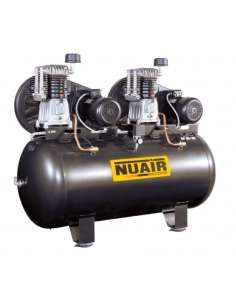 Compresor Nuair NB7/7,5FT/500TD 7,5+7,5 SD