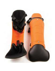 Espinilleras profesionales para Desbrozar