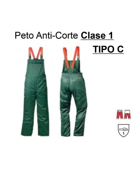 Peto Anticorte (CLASE 1 - TIPO C)