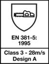 Homologación Anticorte CLASE 3